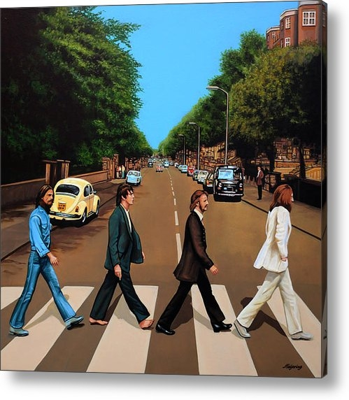 Paul  Meijering - The Beatles Print