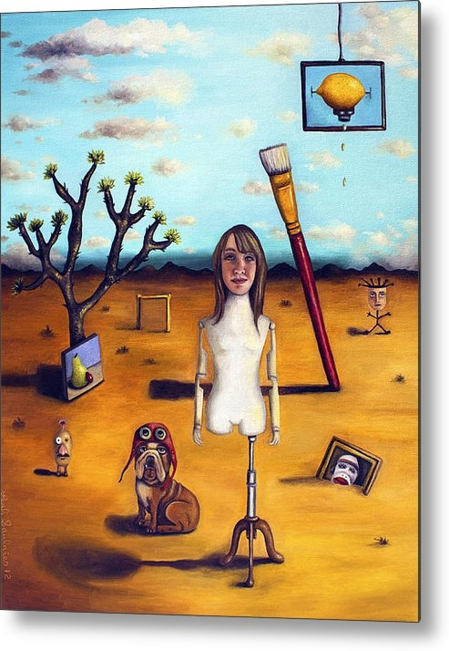 Leah Saulnier The Painting Maniac - My Surreal Life Print