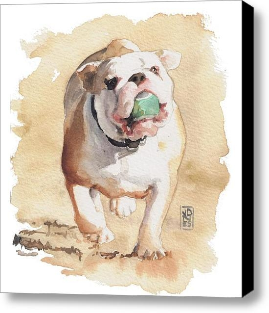 Debra Jones - Bull and Ball Print