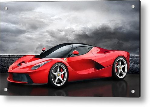 Peter Chilelli - LaFerrari Dreamscape Print