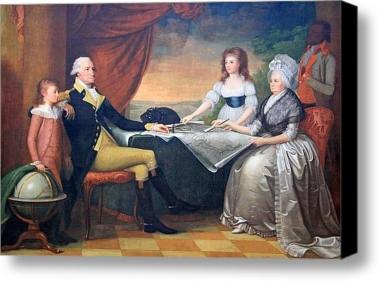 Cora Wandel - The Washington Family Print