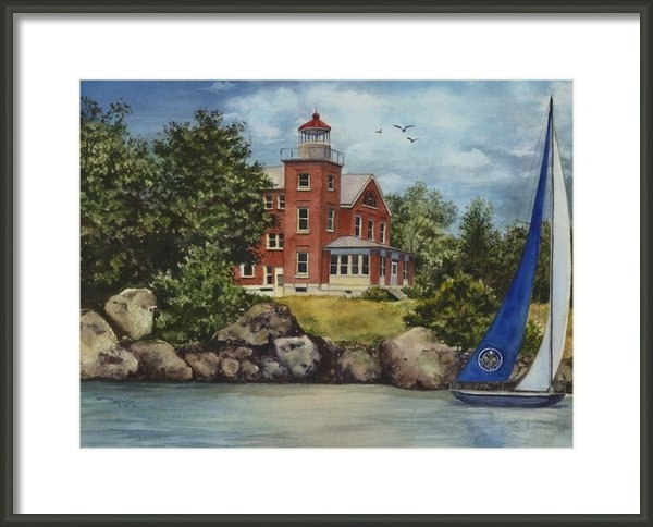 Terri  Meyer - Put-In-Bay Lighthouse Print