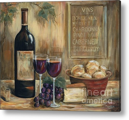 Marilyn Dunlap - Wine For Two Print