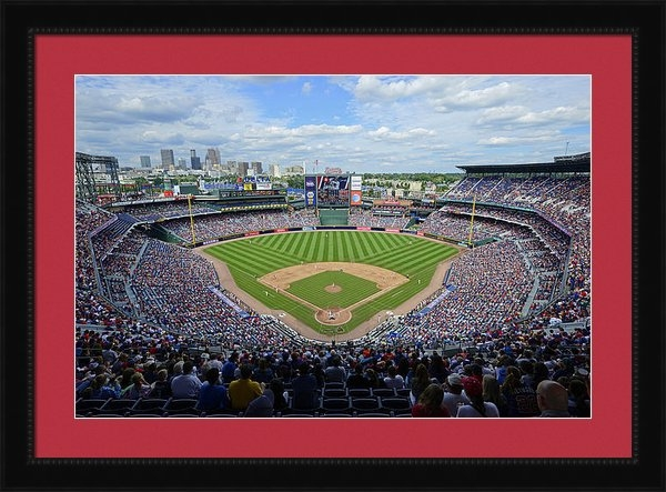 Mark Whitt - 2013 Turner Field Print