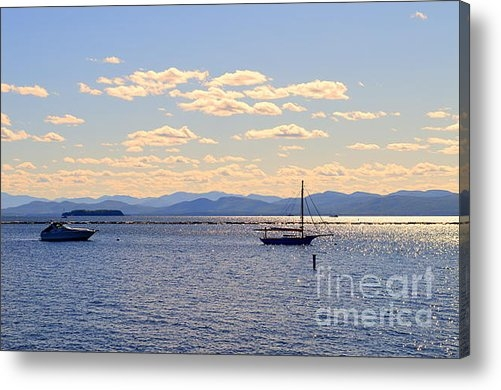 Catherine Sherman - Boats on Lake Champlain V... Print