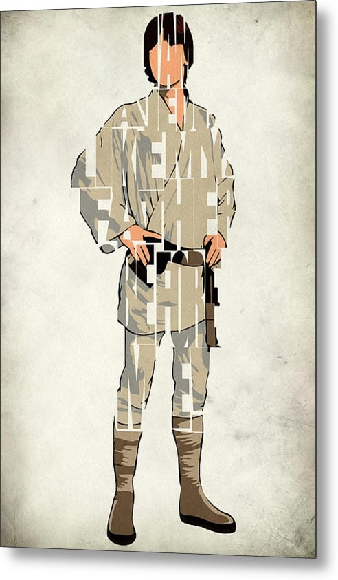 Ayse T Werner - Luke Skywalker - Mark Ham... Print