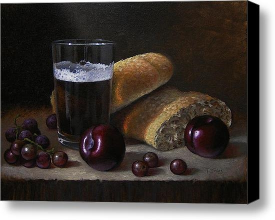 Timothy Jones - Beer Bread and Fruit Print