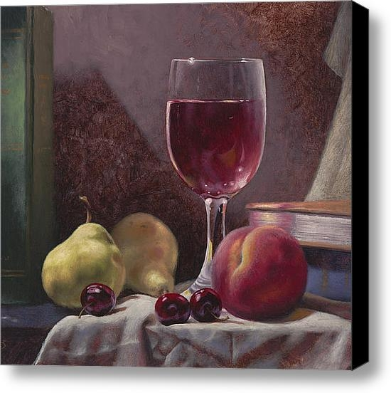 Timothy Jones - Wine and Fruit Print