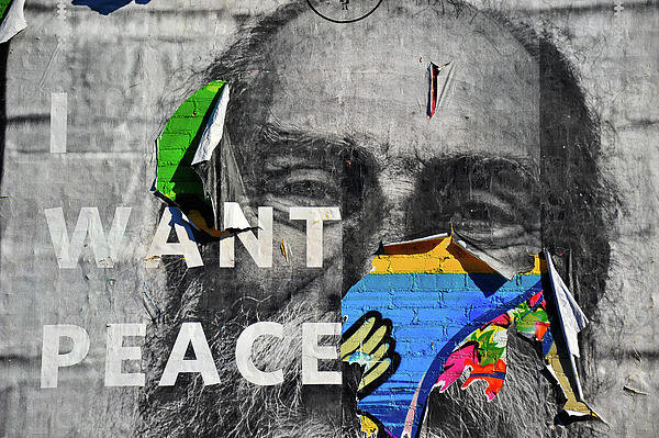 Harry Spitz - I Want Peace Print