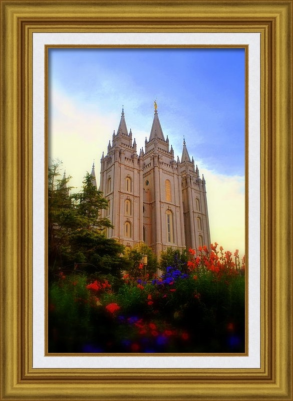 Nathan Abbott - Salt Lake City LDS Temple Print