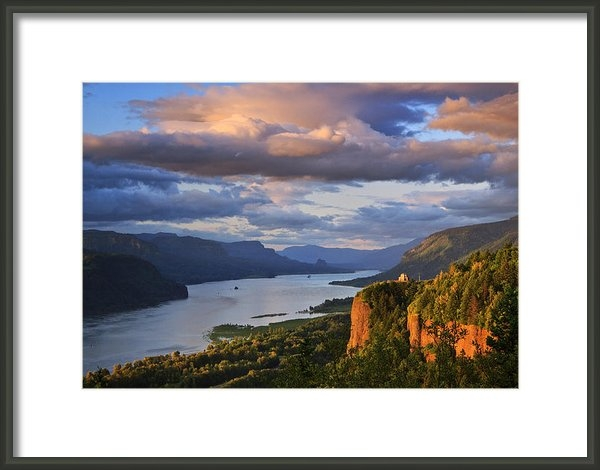 Jon Ares - Sunset Over Crown Point Print