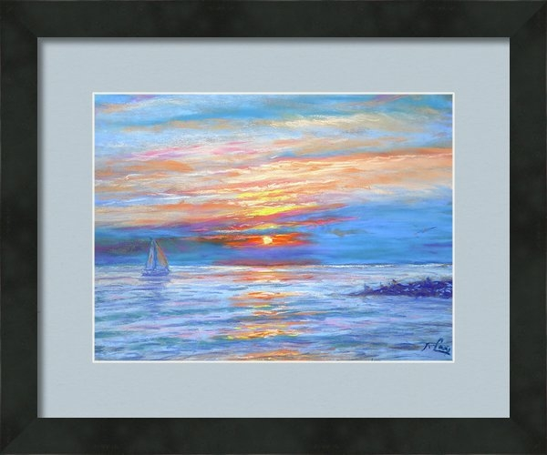 Michael Camp - A Summer Sail Print