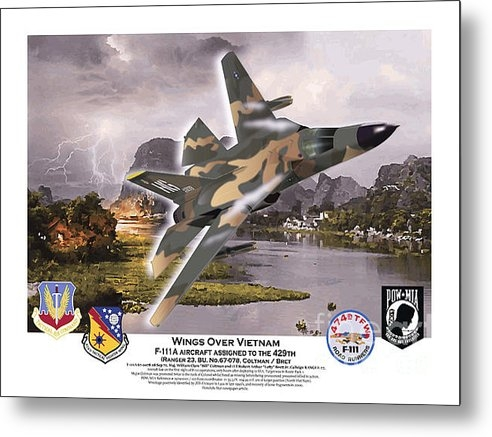 Kenneth De Tore - Wings over Vietnam Aardva... Print