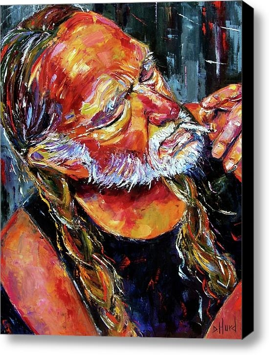 Debra Hurd - Willie Nelson Booger Red Print
