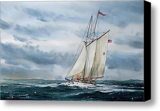 James Williamson - Schooner Adventuress Print