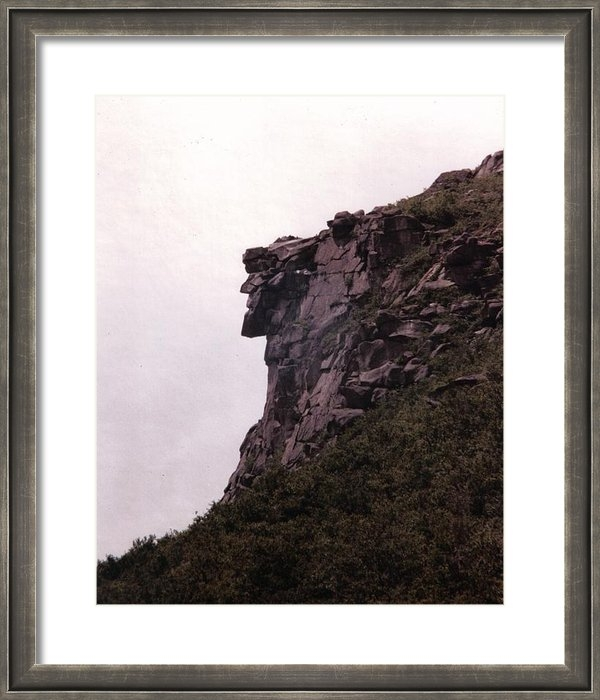 Wayne Toutaint - Old Man of the Mountain Print