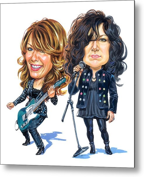 Art - Ann and Nancy Wilson of H... Print