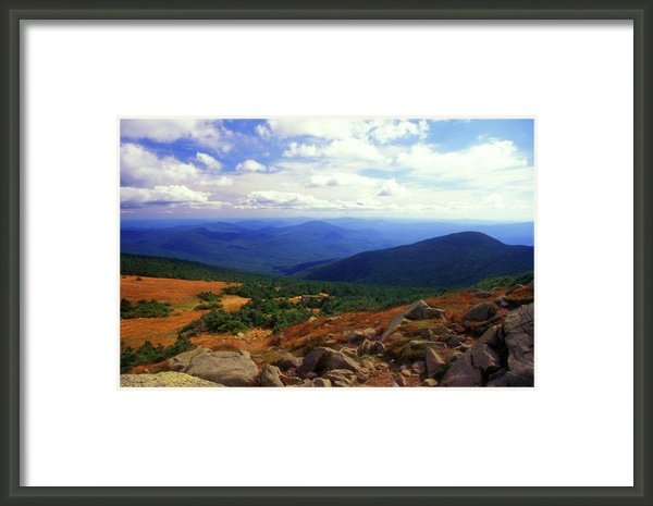 John Burk - Mount Moosilauke Summit  Print