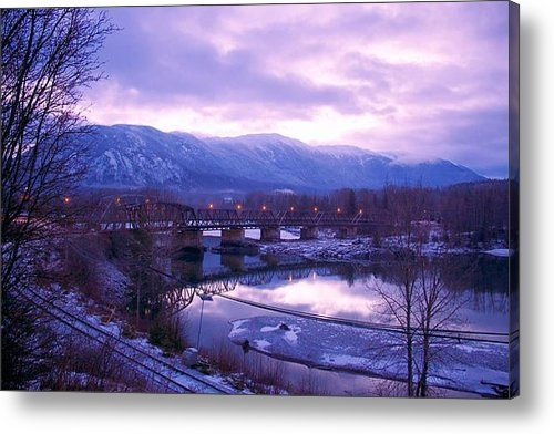 Sylvia Hart - The Old Skeena Bridge Print