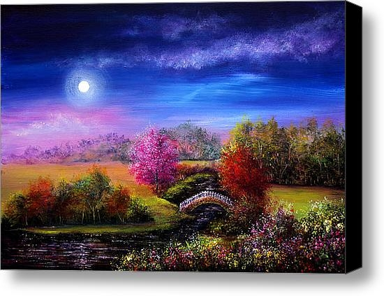 Ann Marie Bone - Bridge to Springtime Print