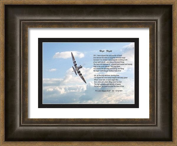 Pat Speirs - High Flight Print