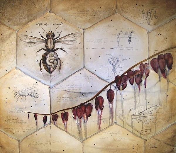 Kristin Llamas - Colony Collapse Print