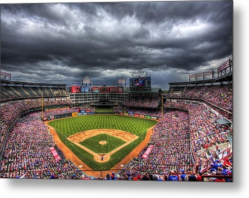 Shawn Everhart - Rangers Ballpark in Arlin... Print