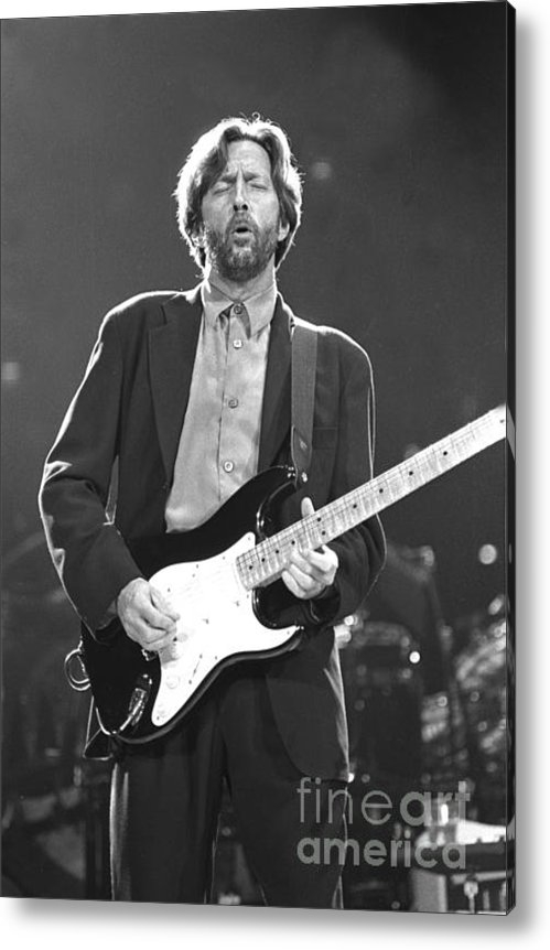 Front Row  Photographs  - Eric Clapton Print
