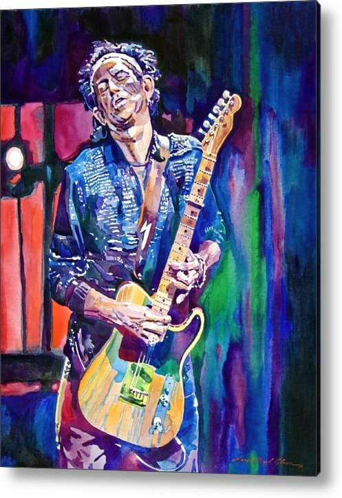 David Lloyd Glover - Telecaster- Keith Richard... Print