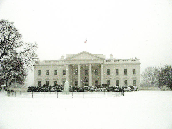 James Finnerty - White House Print