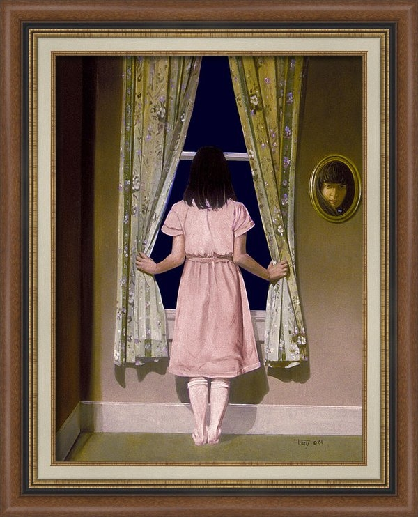 Robert Tracy - Girl at the Window Print