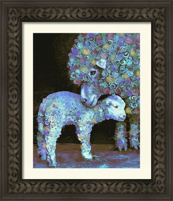 Jane Schnetlage - Whose little lamb are you... Print