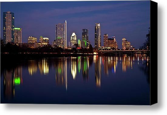 Mark Weaver - Austin Skyline Print