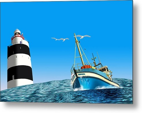 Gerard O Reilly - Rounding Hook Head Wexfor... Print