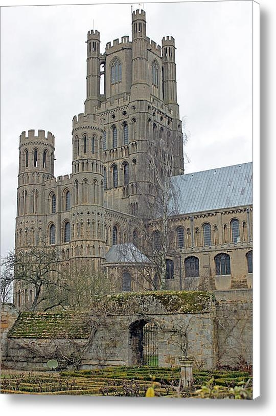 Tony Murtagh - West Tower of Ely Cathedr... Print