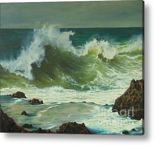 Jeanette French - Coastal Water Dance Print