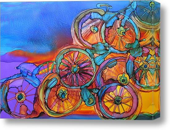 Susan Parsley - My bike sculpture Print