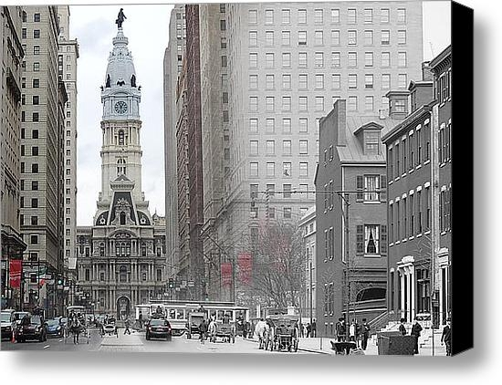 Eric Nagy - South Broad from Locust S... Print