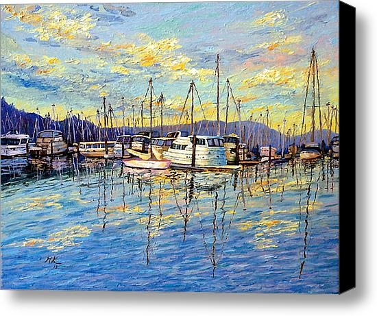 Francesca Kee - Evening at Sausalito Print