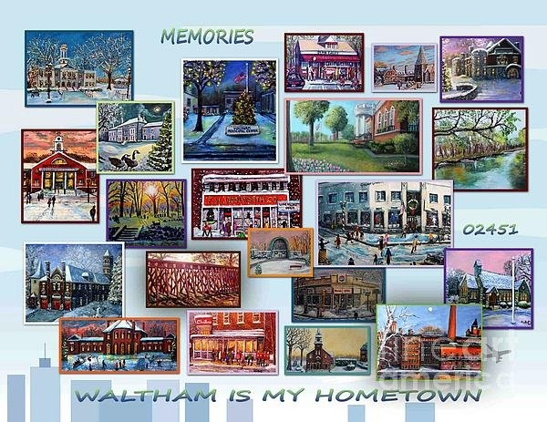 Rita Brown - Waltham is My Hometown Print