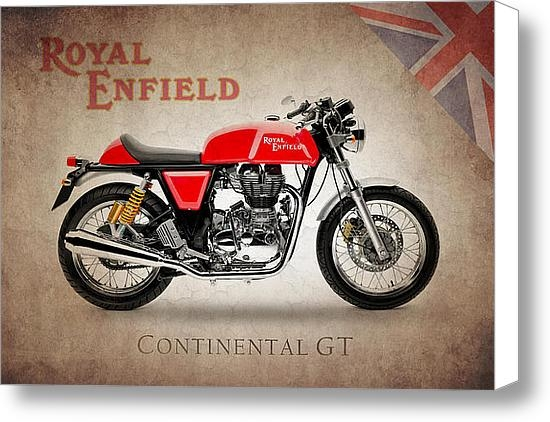 Mark Rogan - Royal Enfield Continental... Print