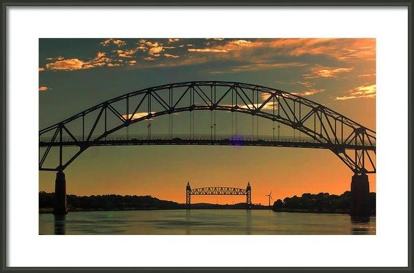 MaryAnn Barry - Cape Cod Canal Bridges Print