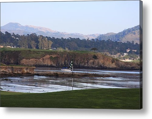 Andrew Romer - 18th at Pebble Beach Print