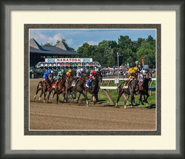 William Stephen - 2013 Whitney Stakes Print