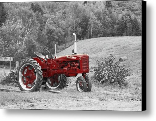 Aimelle  - The Red Tractor Print