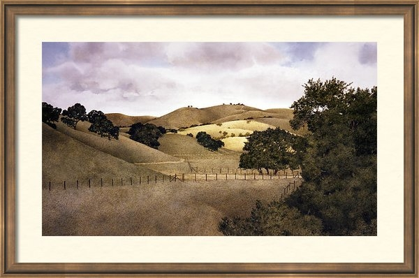 Tom Wooldridge - Cloudy Afternoon Print
