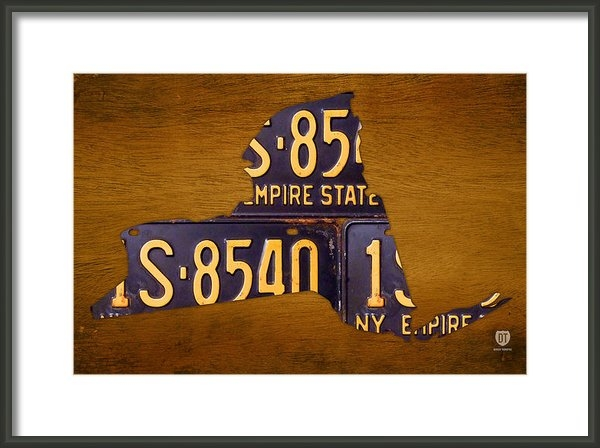 Design Turnpike - New York State License Pl... Print
