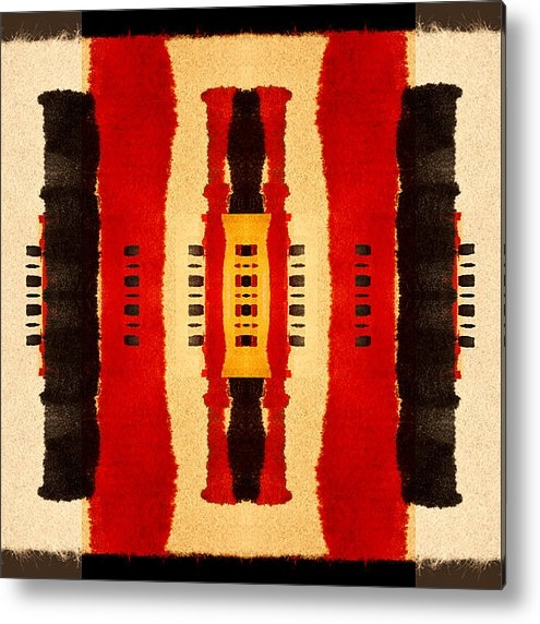 Carol Leigh - Red and Black Panel Numbe... Print
