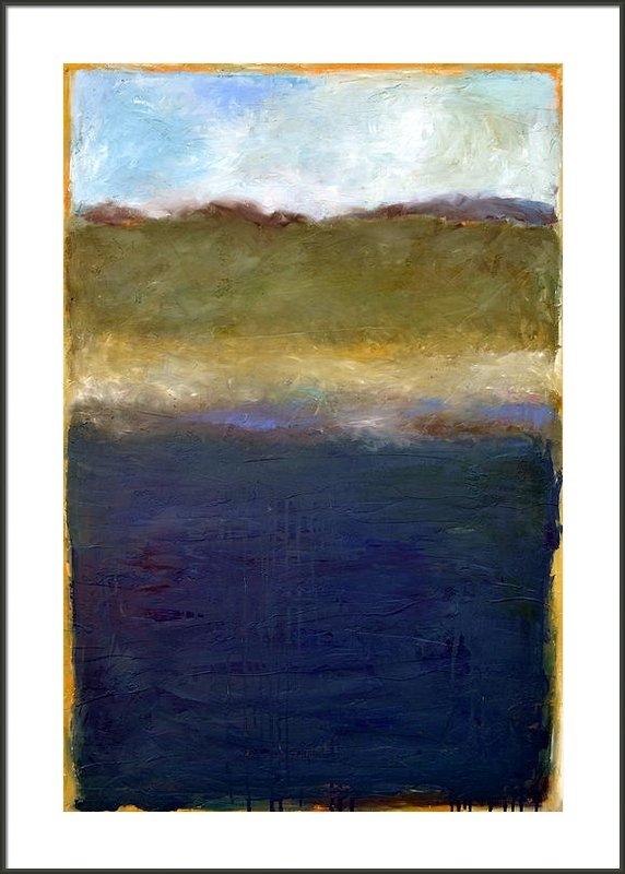 Michelle Calkins - Abstract Dunes ll Print