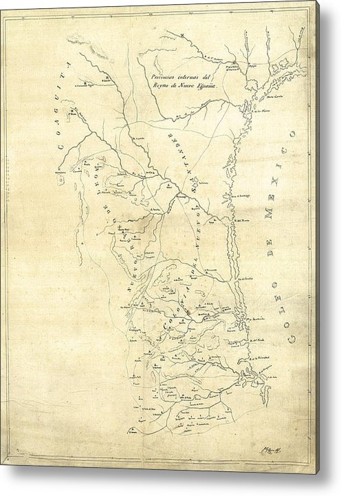 Daniel Hagerman - EARLY HAND-DRAWN SOUTHERN... Print